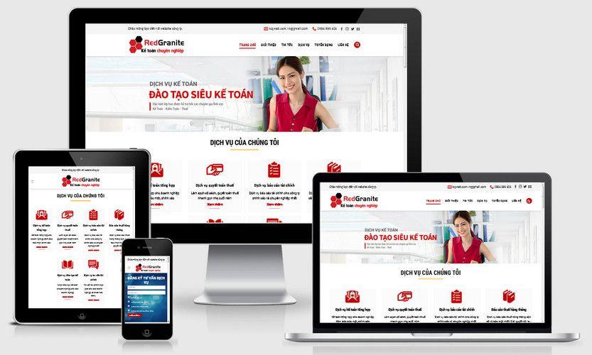 Fullcode website công ty dịch vụ kế toán FC292 1