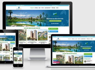 Fullcode website bất động sản căn hộ FC308 2