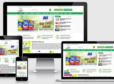 Fullcode website bán nước tẩy rửa bột giặt FC298 2