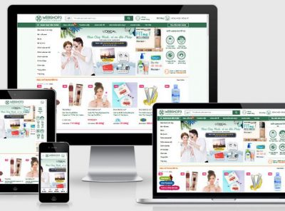 Fullcode website shop mỹ phẩm làm đẹp FC311 7