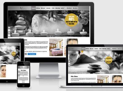 Fullcode website thẩm mỹ viện spa đẹp FC300 6