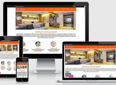 Fullcode website công ty thiết kế nội thất FC301 2