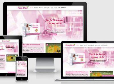 Fullcode website bán thực phẩm chức năng FC302 5