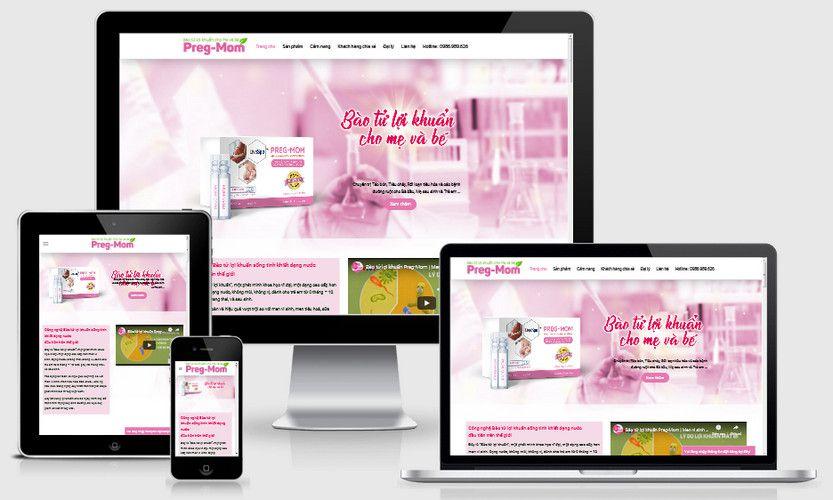 Fullcode website bán thực phẩm chức năng FC302 1