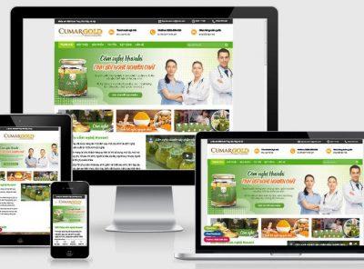 Fullcode website bán tinh bột nghệ đẹp FC315 5