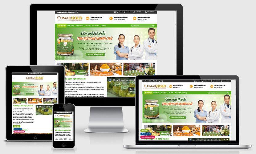 Fullcode website bán tinh bột nghệ đẹp FC315 3