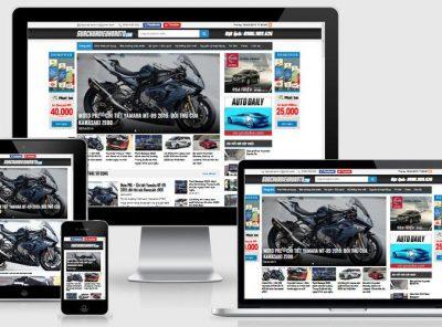 Fullcode website tin tức ô tô xe hơi FC314 3
