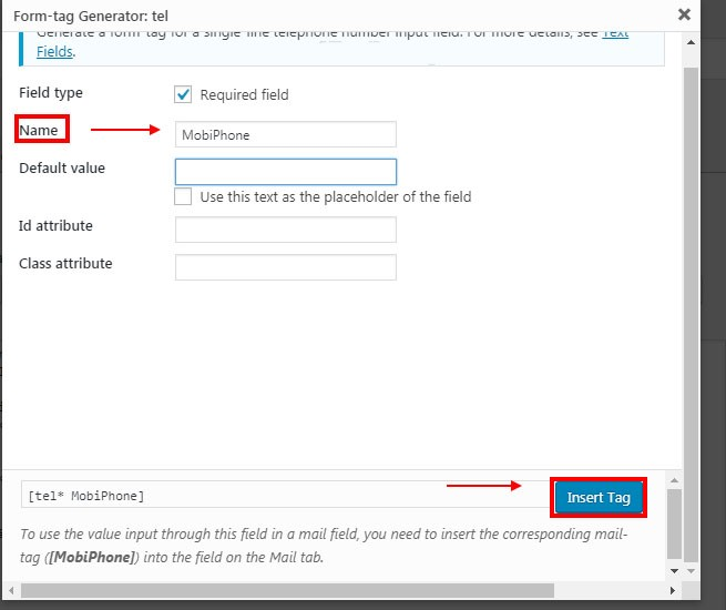 Hướng dẫn sử dụng Plugin Contact Form 7 từ A đến Z 7