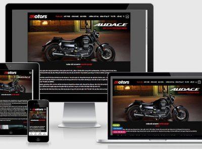Fullcode website trung tâm bảo dưỡng moto xe máy FC320 6