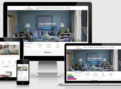 Fullcode website nội thất gia đình FC321 7