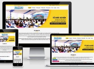 Fullcode website công ty tổ chức sự kiện FC325 1