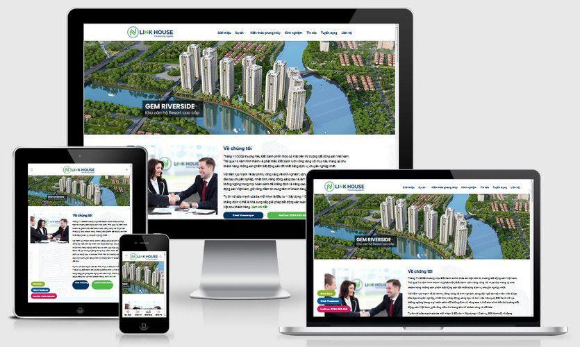 Fullcode website công ty bất động sản FC327 1