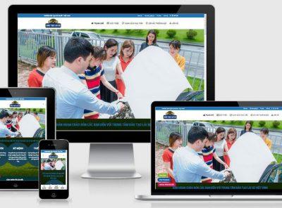 Fullcode website Trung tâm đào tạo lái xe FC328 4