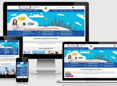 Fullcode website dịch vụ visa chuyên nghiệp FC331 9