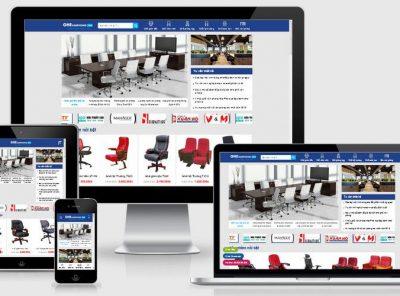 Fullcode website bán nội thất ghế văn phòng FC332 4