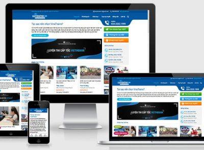 Fullcode website bán khóa học online FC334 3