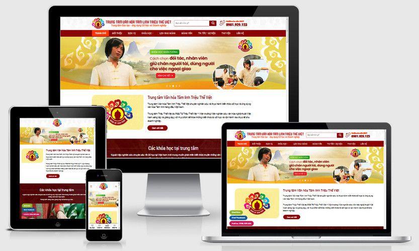 Fullcode website khóa học Phong thủy FC335 1