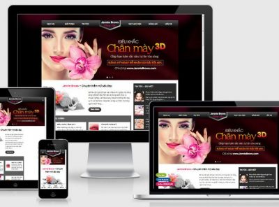 Fullcode website phun xăm thẩm mỹ FC339 3