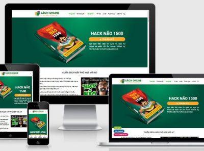 Fullcode website bán sách online FC351 1