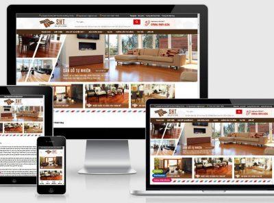 Fullcode website sàn gỗ tự nhiên FC352 2