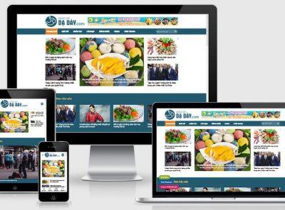 Fullcode website tin tức y học FC355 2